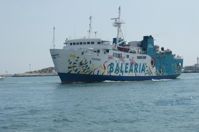 Nowy prom zasilany LNG na wodach Morza Śródziemnego