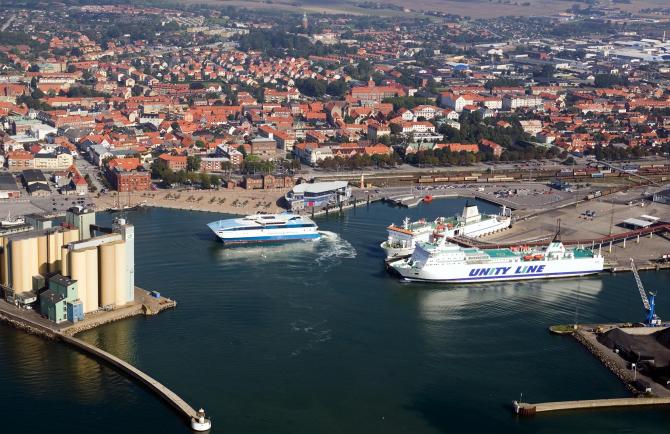 Ruszyła budowa nowych miejsc postojowych w porcie Ystad