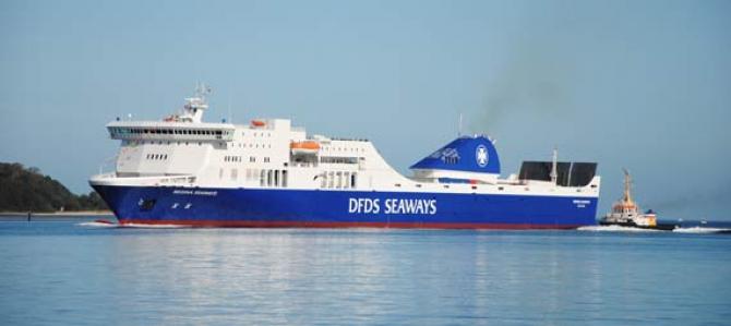 Awaria promu DFDS na Bałtyku