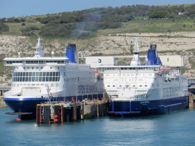 Spór o Kanał La Manche: spotkanie zarządu DFDS we Francji
