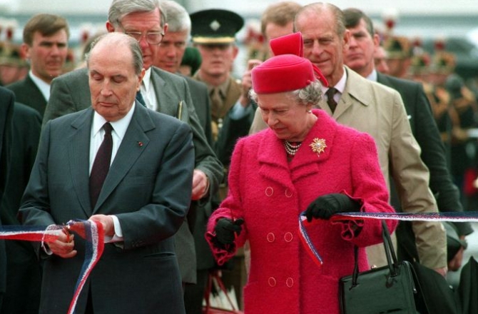 20 rocznica otwarcia Eurotunelu pod Kanałem la Manche