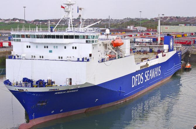Zarząd DFDS zdecydował o likwidacji kierunku Harwich- Esbjerg