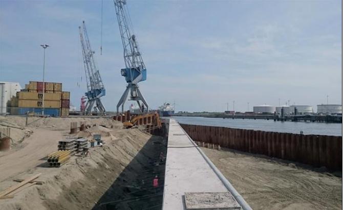 Europoort zyska nowe nabrzeże