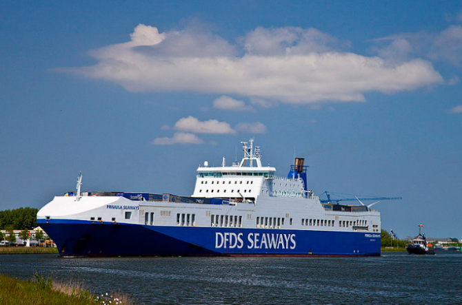 DFDS wydłuży statek o 30 metrów