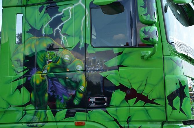 Piraci z Karaibów kontra Hulk, czyli Master Truck 2014!