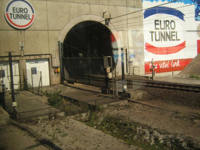 Chaos w Eurotunnelu