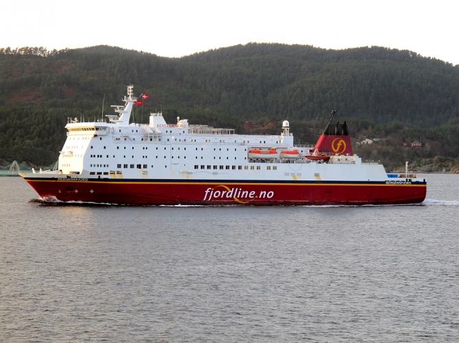 Fjord Line podpisuje kontrakt z Liquiline na budowę terminalu bunkrowania LNG