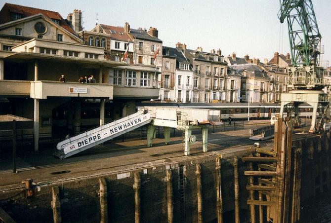 Rejsy na trasie Newhaven - Dieppe będą finansowane z publicznych pieniędzy