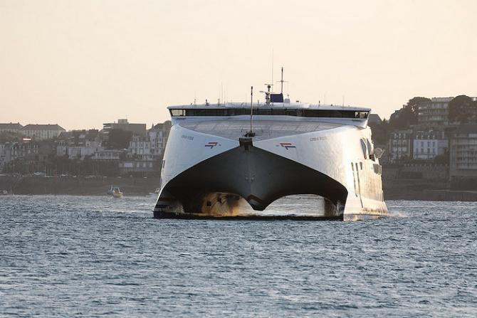 Condor Ferries zanotował wzrost zainteresowania przeprawami do Francji