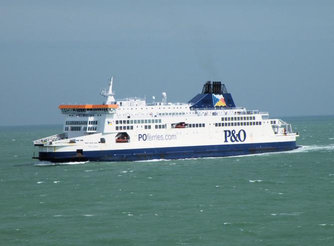 P&O Ferries: Znaczne ożywienie na trasie Zeebrugge-Tilbury