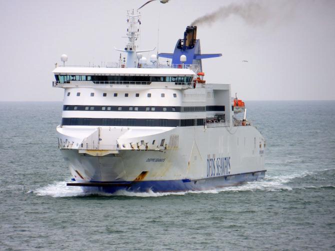 Przekształcenia jednostki Dieppe Seaways