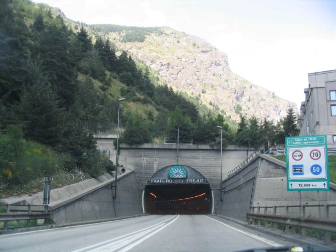 Tunel Fréjus, Tunel Frejus