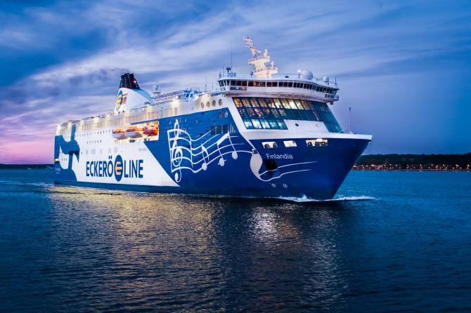 Eckerö Line: Nowa technologia dokowania i manewrowania