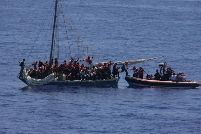 Spadek liczby imigrantów we Włoszech
