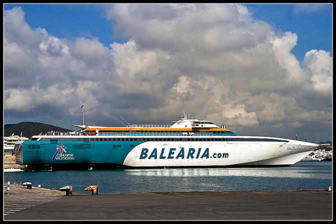 Szybkobieżna zamiana przewoźnika Baleària