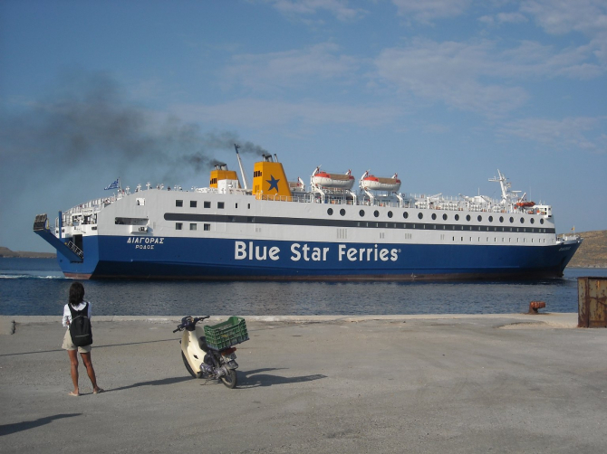 Blue Star Ferries razem z Eco Marine Power testują wykorzystanie energii odnawialnej