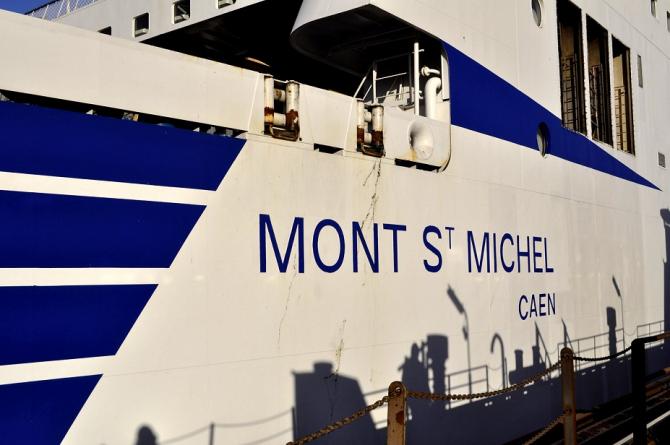 Prom Mont St. Michel zostanie wyposażony w scrubbery