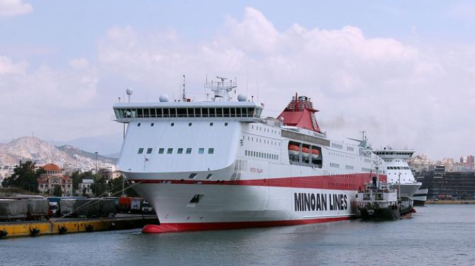 Pierwsze dochodowe półrocze dla Minoan Lines od 2000 roku