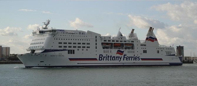 Promy do Anglii: Czwarty rok z rzędu wzrostów Brittany Ferries