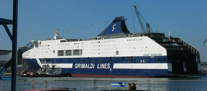 Morze Śródziemne: Grimaldi poszerza siatkę połączeń z Barcelony