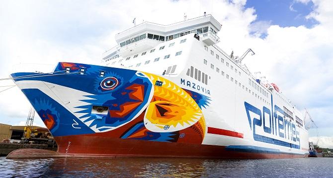 Promy do Szwecji: Pożar na pokładzie promu Polferries