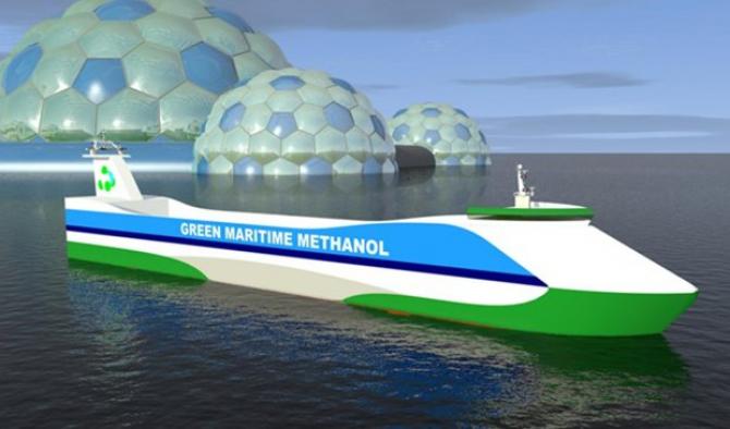Metanol jako paliwo dla promów?