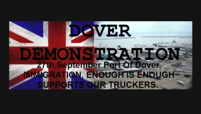 Promy do Anglii: Przygotowania do demonstracji w porcie Dover