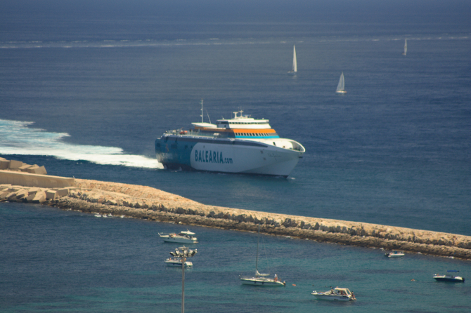Passio Per Formentera wraca na trasę Ceuta-Algeciras
