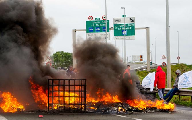 Groźba kolejnego strajku wisi nad Calais?