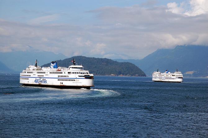 BC Ferries przebudowuje promy