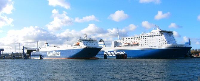 Promy do Finlandii: Rekordowy kwartał w historii Finnlines