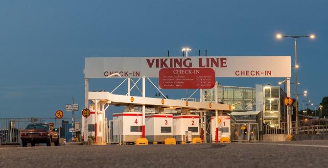 Promy do Finlandii: Nieznaczny spadek przewozów pasażerskich Viking Line