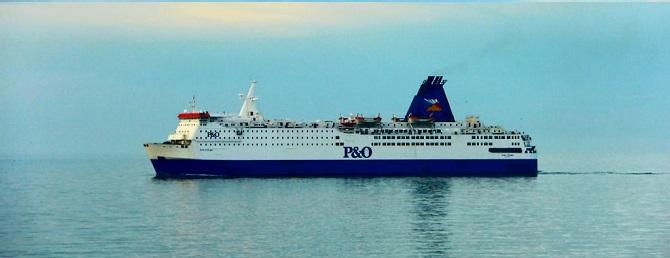 Promy do Anglii: P&O Ferries ustanawia rekord przewozów z Zeebrugge