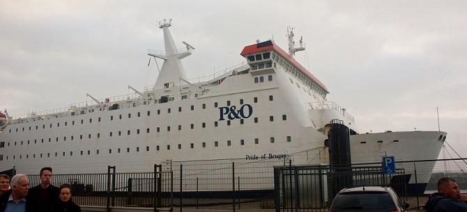 P&O Ferries zwiększy przepustowość linii Zeebrugge – Teesport
