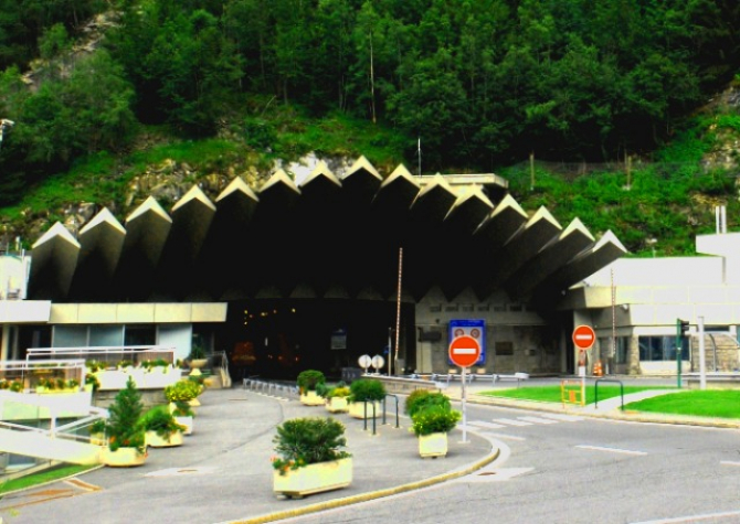 Tunel Mont Blanc