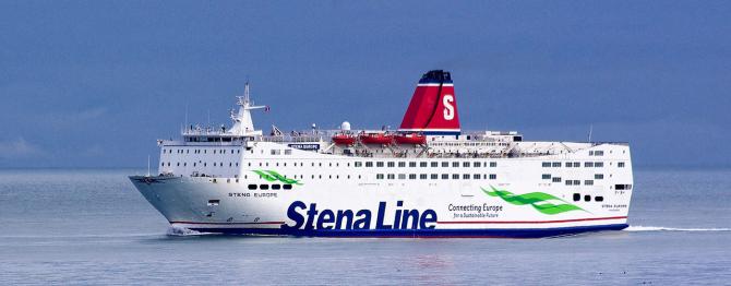 16 imigrantów na promie Stena Line