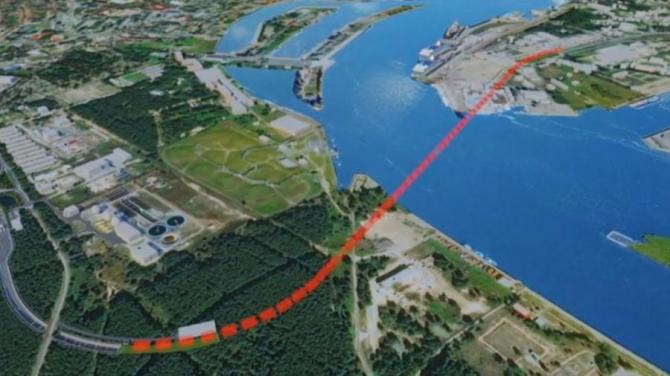 Świnoujście: Będzie tunel pod rzeką Świną