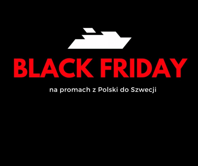 BLACK FRIDAY na Promach do SZWECJI