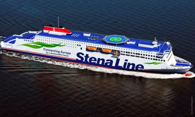 Pomyślne testy nowej jednostki Stena Line