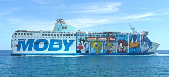 Umowa DFDS i Moby anulowana