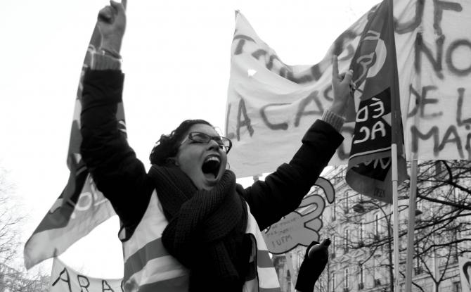 W dniu jutrzejszym Francja strajkuje!
