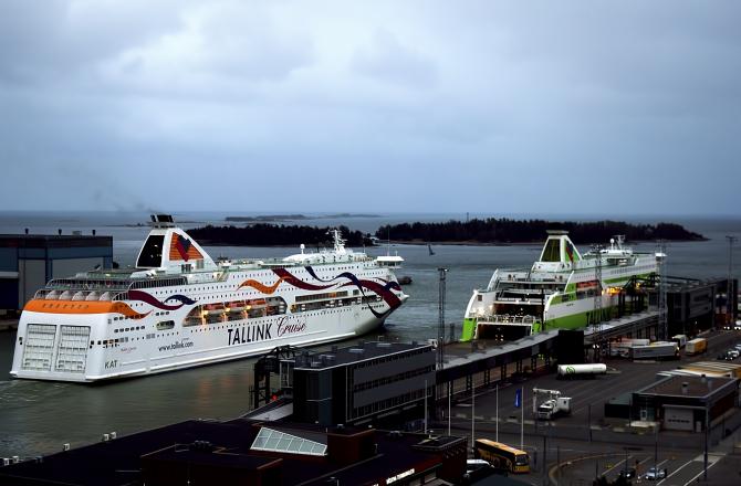 Promy do Estonii: Tallink Gruupp wyniki za październik 2014
