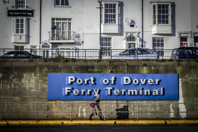 Promy do Anglii: Transport w Dover rośnie w siłę