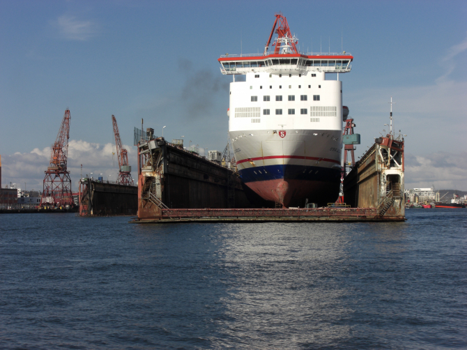Promy do Szwecji: Stena Jutlandica wraca do służby