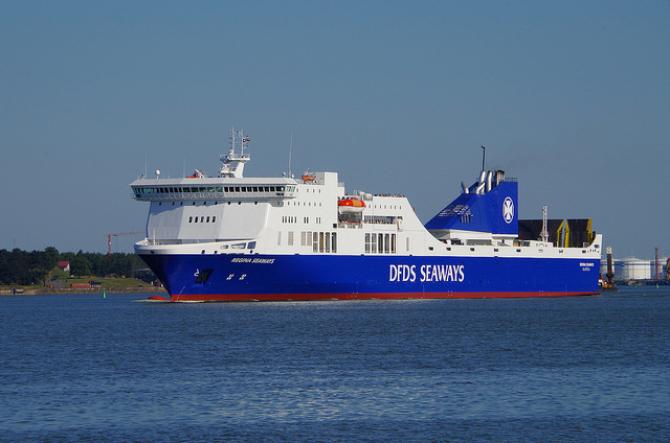 DFDS zwiększa powierzchnię ładunkową na trasie Szwecja-Belgia