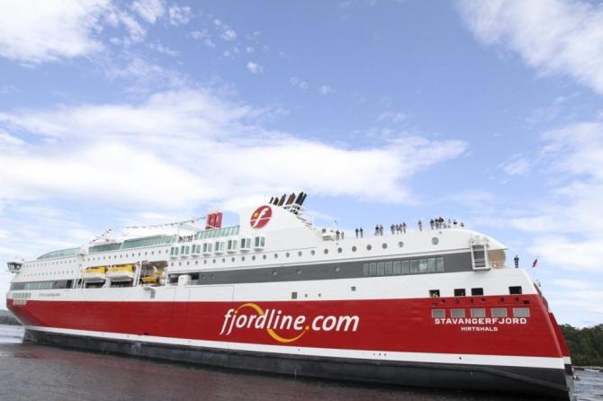 Fjord Line szuka pomocy u firmy inwestycyjnej