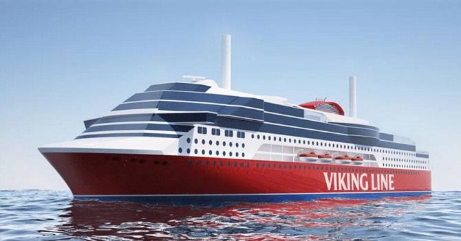 Viking Line podpisał kontrakt na budowę promu rejsowego z Xiamen