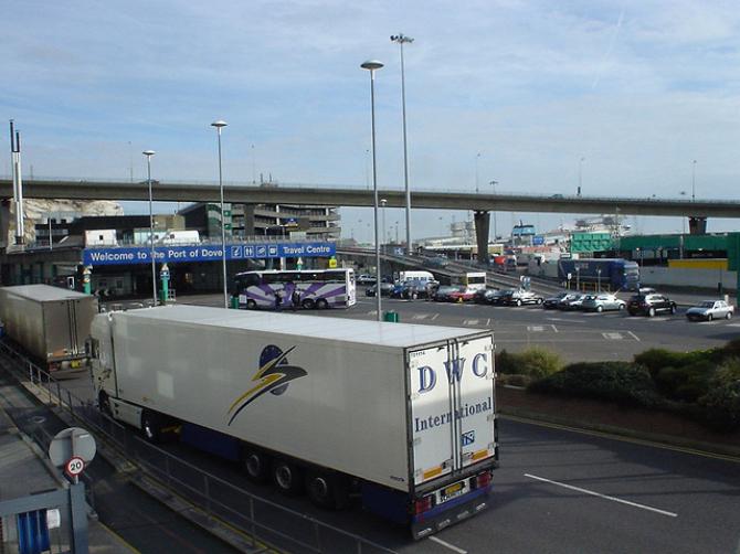 Port w Dover: rekordowe wyniki przepustowości