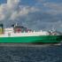 Większy statek na linii promowej Stena Line z Gdyni do Nynäshamn